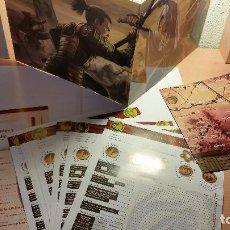 Juegos Antiguos: PANTALLA DE LEYENDA DE LOS CINCO ANILLOS - LEYENDA DE LOS 5 ANILLOS - ROL. Lote 95816599