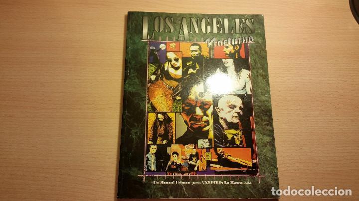 LOS ANGLES NOCTURNO DE VAMPIRO MASCARADA - MUNDO DE TINIEBLAS - ROL (Juguetes - Rol y Estrategia - Juegos de Rol)