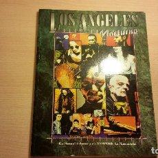 Juegos Antiguos: LOS ANGLES NOCTURNO DE VAMPIRO MASCARADA - MUNDO DE TINIEBLAS - ROL. Lote 95817127