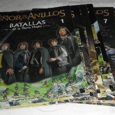 Juegos Antiguos: EL SEÑOR DE LOS ANILLOS - BATALLAS EN LA TIERRA MEDIA- Nº 1 AL 9. Lote 95831215