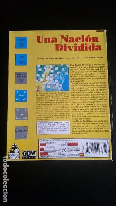 Juegos Antiguos: Una nacion dividida, diseños orbitales GDW - Foto 2 - 95845647