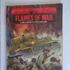 Old Games - FLAMES OF WAR - JUEGO DE MINIATURAS DE LA SEGUNDA GUERRA MUNDIAL - EN ESPAÑOL - 95983907