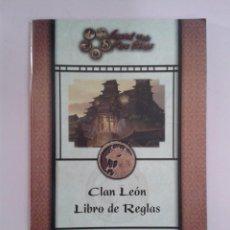 Alte Spiele - LIBRO DE REGLAS CLAN LEON. LEGEND OF FIVE RINGS - 96627571