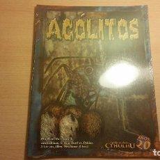 Juegos Antiguos: ACOLITOS DE LA LLAMADA DE CTHULHU - LOVECRAFT - ROL. Lote 96672903