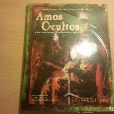 Juegos Antiguos: AMOS OCULTOS DE LA LLAMADA DE CTHULHU - LOVECRAFT - ARKHAM - ROL. Lote 96673243