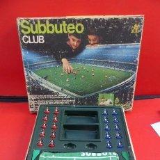 Juegos Antiguos: SUBBUTEO CLUB....CASI COMPLETO..TODOS LOS JUGADORES, FALTA PORTERIAS,,,PARA APROVECHAR.... Lote 96793731