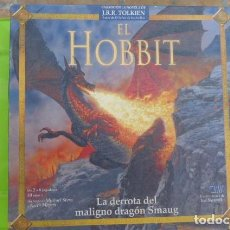 Juegos Antiguos: EL HOBBIT,,LA DERROTA DEL MALIGNO DRAGON SMAUG..JUEGO DE ROL. Lote 97120479