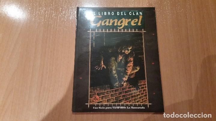 LIBRO DE CLAN GANGREL DE VAMPIRO MASCARADA - MUNDO DE TINIEBLAS - VAMPIRO REQUIEM - ROL (Juguetes - Rol y Estrategia - Juegos de Rol)