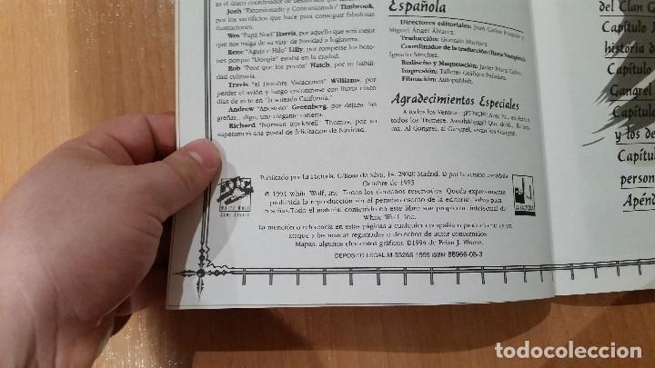 Juegos Antiguos: Libro de Clan Gangrel de Vampiro Mascarada - Mundo de Tinieblas - Vampiro Requiem - ROL - Foto 3 - 97296667