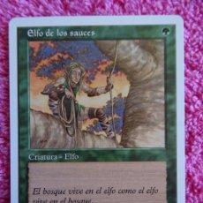 Juegos Antiguos: MAGIC EL ENCUENTRO ELFO DE LOS SAUCES CRIATURA THE GATHERING STARTER 1993-2000 SIN SIMBOLO EXPANSION. Lote 97562879