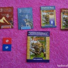 Juegos Antiguos: MAGIC EL ENCUENTRO INSTRUCCIONES Y SET DE JUEGO THE GATHERING EN ESPAÑOL STARTER 2000. Lote 97567419