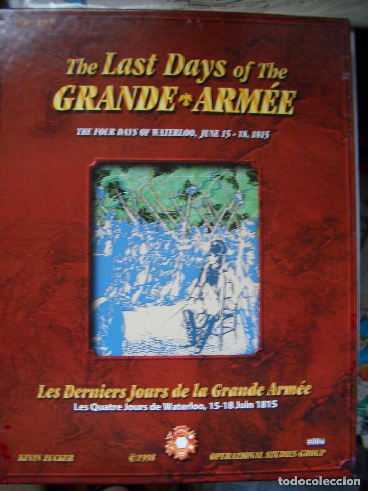 THE LAST DAYS OF THE GRANDE ARMÉE (OSG, 1998) (Juguetes - Rol y Estrategia - Otros)