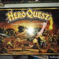 Juegos Antiguos: JUEGO DE MESA HEROQUEST - MB GAMES 1989_ FALTAN POCAS PIEZAS. Lote 97787799