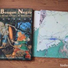 Juegos Antiguos: EL BOSQUE NEGRO SEÑOR DE LOS ANILLOS JUEGO DE ROL JOC INTERNACIONAL MÓDULO ICE TOLKIEN. Lote 109033203