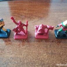 Juegos Antiguos: HEROQUEST MB MINIATURAS FIGURAS PLÁSTICO HÉROES JUEGO MESA ESTRATEGIA VINTAGE. Lote 98160915