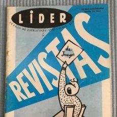 Juegos Antiguos: REVISTA LIDER ROL N 26. Lote 98377999