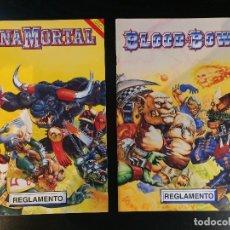 Juegos Antiguos: REGLAMENTO BLOOD BOWL Y ZONAMORTAL, EDICION ESPAÑOLA, 1995. RARA!!!!!!!!!!!!!!!!!. Lote 98671535