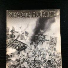 Juegos Antiguos: SPACE MARINE. MANUAL, WARHAMMER. INGLÉS.. Lote 98671927