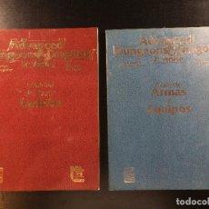 Juegos Antiguos: DUNGEON & DRAGONS MANUAL DEL JUGADOR + GUIA PARA EL DUNGEON MASTER.. Lote 98673639