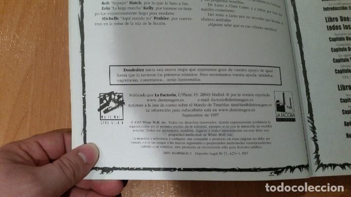 Juegos Antiguos: Proyecto Crepusculo - Cazador la Venganza - Mundo de Tinieblas - Vampiro Mascarada - ROL - Foto 3 - 98853691