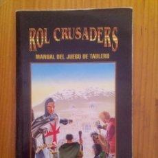 Juegos Antiguos: ROL CRUSADERS - MANUAL DEL JUEGO DE TABLERO. Lote 99469139