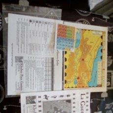 Juegos Antiguos: WARGAME LA GUERRA JUDIA KHYBER PASS GAMES , INCLUYE LO Q SE VE EN LA FOTO. Lote 100036088