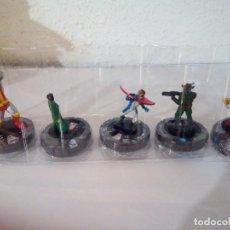 Juegos Antiguos: HEROCLIX LOTE DE 5 XMEN 2014. Lote 100281415