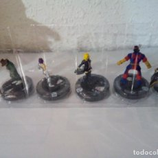 Juegos Antiguos: HEROCLIX LOTE DE 5 XMEN 2014. Lote 100281631