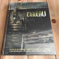 Juegos Antiguos: EL RASTRO DE CTHULHU - LIBRO BÁSICO - JUEGO DE ROL - EDGE - PRECINTADO - LOVECRAFT - MITOS . Lote 100308599