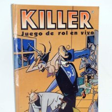 Juegos Antiguos: KILLER. JUEGO DE ROL EN VIVO ILUST ARNAL BALLESTER JOC INTERNACIONAL / STEVE JACKSON GAMES, 1991. Lote 100996214