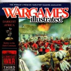 Juegos Antiguos: REVISTAS WARGAMES ILLUSTRATED //LOTE DE 3// EN INGLES. Lote 101127519