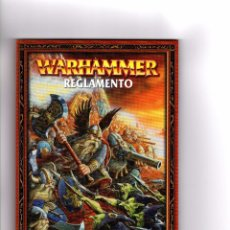 Juegos Antiguos: LOTE 2 REGLAMENTOS BOLSILLO WARHAMMER. Lote 101128059