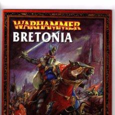 Juegos Antiguos: LIBRO EJERCITO WARHAMMER BRETONIA. Lote 101128139