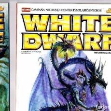 Juegos Antiguos: LOTE 2 REVISTAS WHITE DWARF WARHAMMER EN ESPAÑOL. Lote 101128275