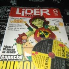 Juegos Antiguos: LIDER 9 ESPECIAL HUMOR NEGRO. Lote 101200372
