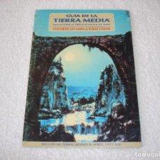 Juegos Antiguos: GUIA DE LA TIERRA MEDIA - EL HOBBIT Y EL SEÑOR DE LOS ANILLOS - JOC INTERNACIONAL (DICIEMBRE 1989).. Lote 101393135