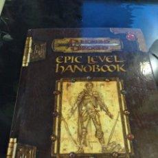 Juegos Antiguos: EPIC LEVEL HANDBOOK. DUNGEONS Y DRAGONS. INGLÉS. Lote 101390111