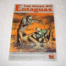 Juegos Antiguos: LAS BOCAS DEL ENTAGUAS - EL SEÑOR DE LOS ANILLOS - JOC INTERNACIONAL (1992).. Lote 101396499