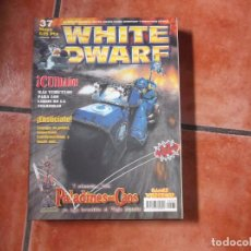 Jogos Antigos: WHITE DWARF Nº 37. PALADINES DEL CAOS. NUEVOS VEHICULOS. MAQUETISMO. HERALDOS. MARINES ESPACIALES.. Lote 101541991