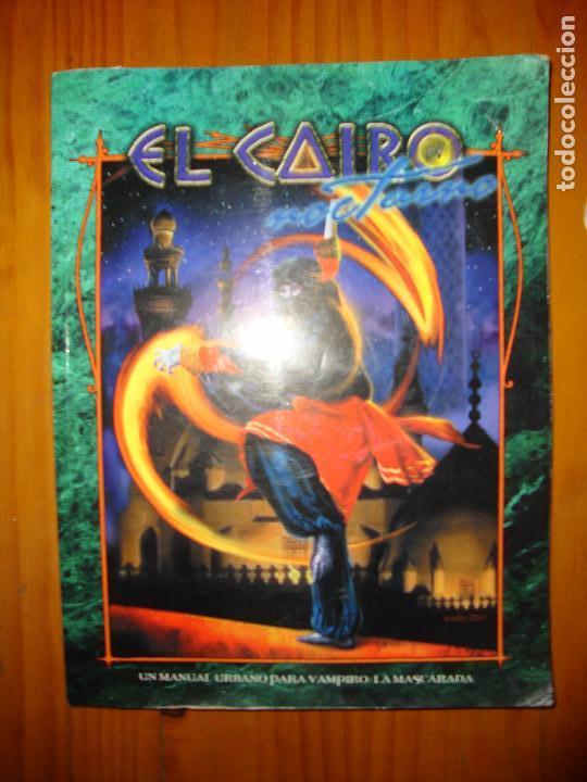 EL CAIRO NOCTURNO - C. A. SULEIMAN - SUPLEMENTO PARA VAMPIRO: LA MASCARADA, LA FACTORÍA DE IDEAS (Juguetes - Rol y Estrategia - Juegos de Rol)