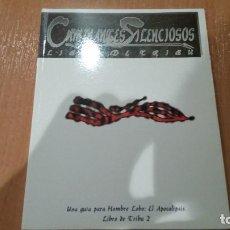 Juegos Antiguos: LIBRO DE TRIBU 2: CAMINANTES SILENCIOSOS - HOMBRE LOBO APOCALIPSIS - HOMBRE LOBO EXILIO - ROL. Lote 246122345