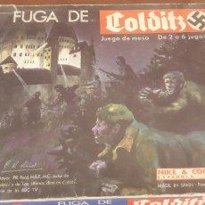 Juegos Antiguos: LA FUGA DE COLDITZ. Lote 101760187