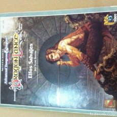 Juegos Antiguos: ADVANCED DUNGEONS AND DRAGONS 2A EDICION DRAGON LANCE ELFOS SALVAJES LIBRO DE ROL KREATEN. Lote 101928499