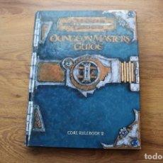 Juegos Antiguos: DUNGEONS DRAGONS D&D DUNGEON MASTER´S GUIDE 2000 JUEGO ROL INGLÉS DESCATALOGADO. Lote 102485951