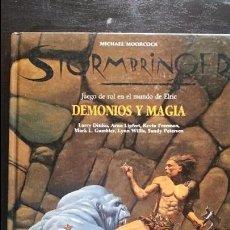 Juegos Antiguos: DEMONIOS Y MAGIA (STORMBRINGER), JUEGO DE ROL. JOC INTERNACIONAL. Lote 102494367