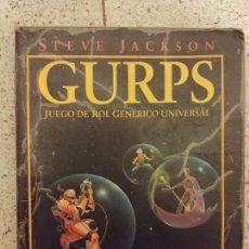 Juegos Antiguos: GURPS 3ª EDICION ESPAÑOL. Lote 102627211