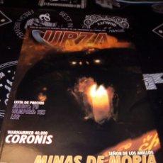 Juegos Antiguos: REVISTA URZA 34 MAGIC. Lote 103345316