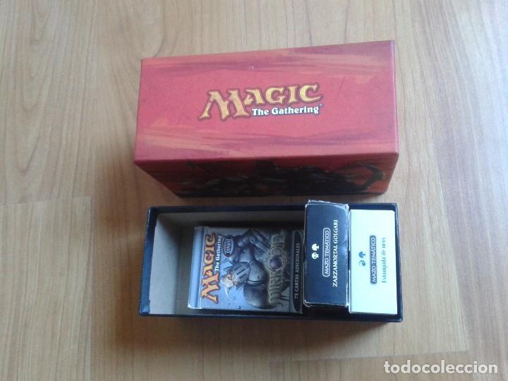 Juegos Antiguos: 4 Cajas vacías de cartas Magic - 1 grande y 3 pequeñas - Foto 2 - 103599843