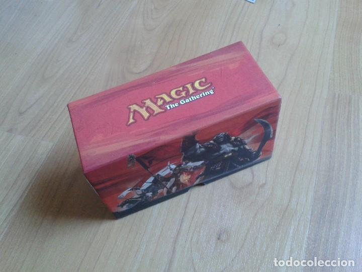 Juegos Antiguos: 4 Cajas vacías de cartas Magic - 1 grande y 3 pequeñas - Foto 5 - 103599843