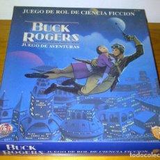 Juegos Antiguos: BUCK ROGERS JUEGO DE ROL DE CIENCIA FICCIÓN SIGLO XXV TSR ZINCO FACSIMIL. Lote 103897535